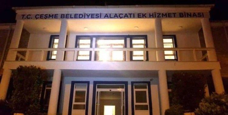 Çeşme Belediyesi'nin Alaçatı ek hizmet binası açıldı