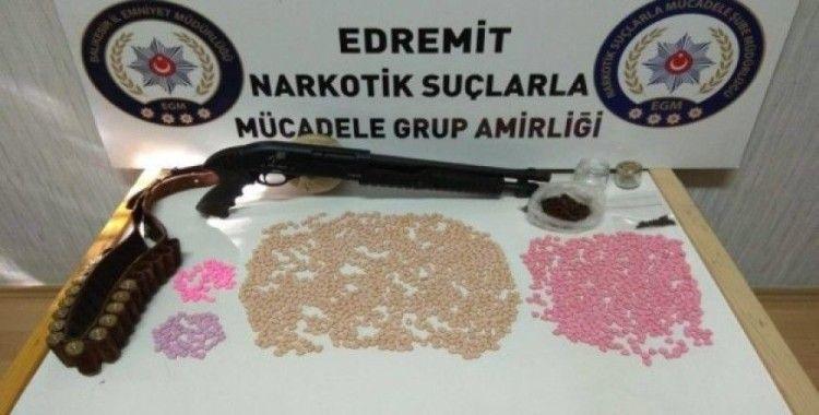 Edremit'te uyuşturucu ticaretine sıkı takip