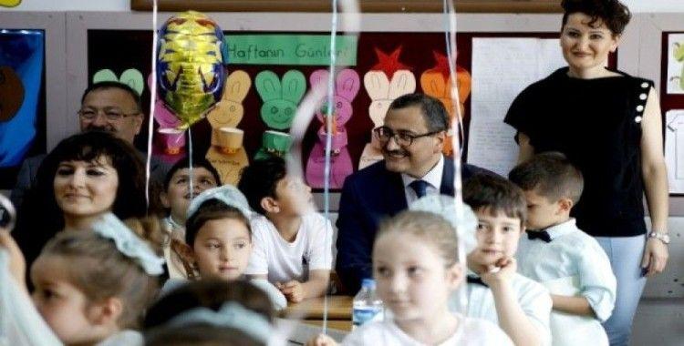 Giresun'da 68 bin öğrenci karne sevinci yaşadı