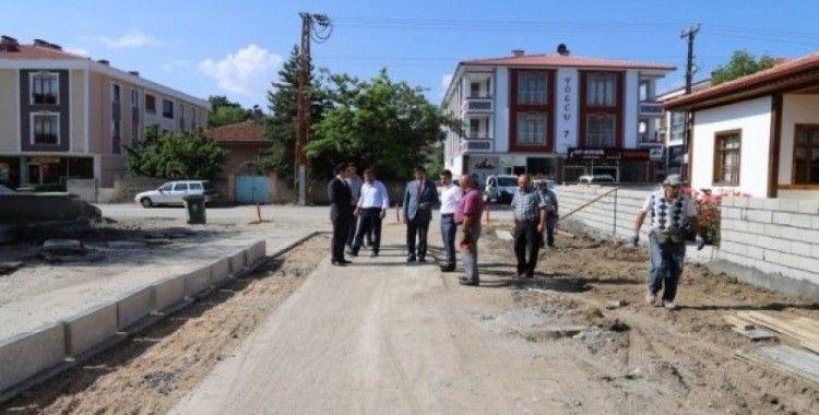 Nusret Çetinkaya Caddesinde genişletme çalışmalarına başlandı
