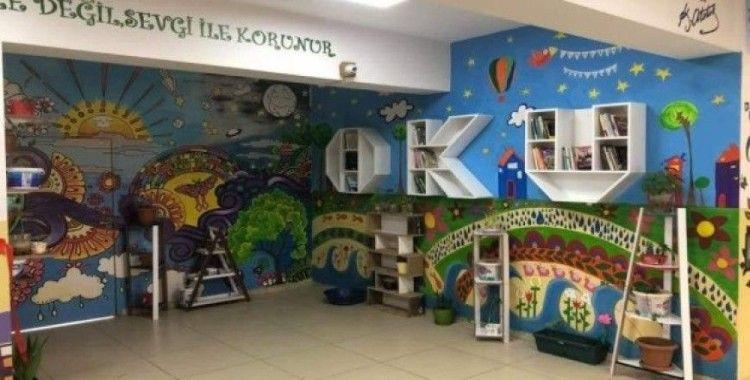 Silopi'de okul koridoru eğitim sokağına çevrildi