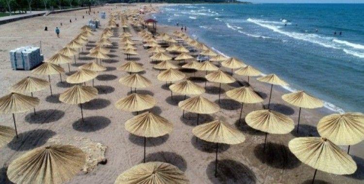 Kocaeli'nin plajları yaz sezonuna hazır