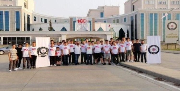 Polisten öğrencilere Çanakkale gezisi