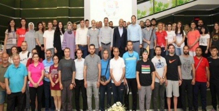Başkan Büyükgöz, 'Yaz Okulları'nın eğitimcileriyle buluştu