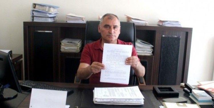 Başkan Turanlı'dan suç duyurusu