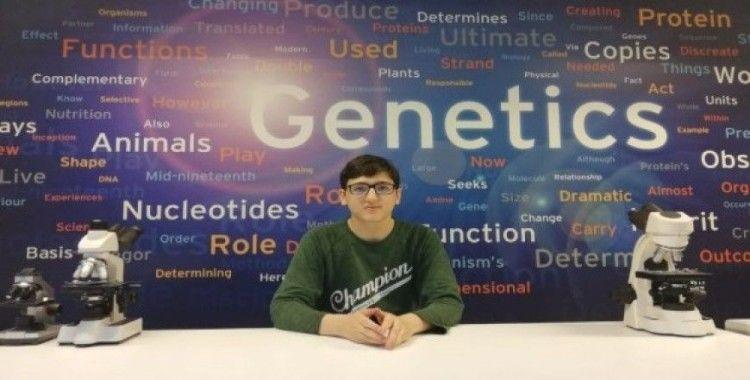 Gen değişimini araştıran Türk öğrenci, Avrupa'da birinci seçildi