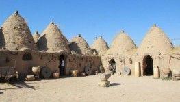 Klima görmeyen Harran'ın kümbet evleri turistlerin ilgi odağı