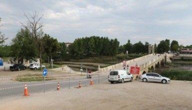 Tarihi Tunca Köprüsü restorasyona alındı