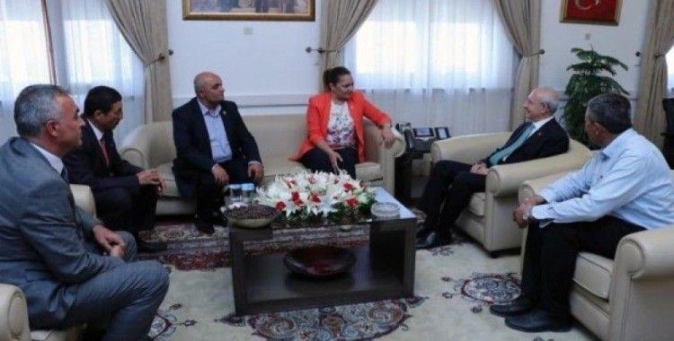 CHP'li Belediye Başkanları Kılıçdaroğlu'nu ziyaret etti