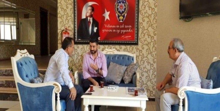 Başkan Dağtekin, 15 Temmuz Gazileri ile bir araya geldi