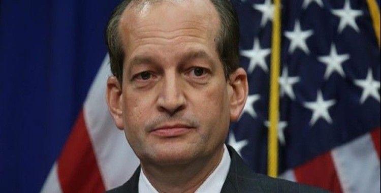ABD Çalışma Bakanı istifa edeceğini duyurdu