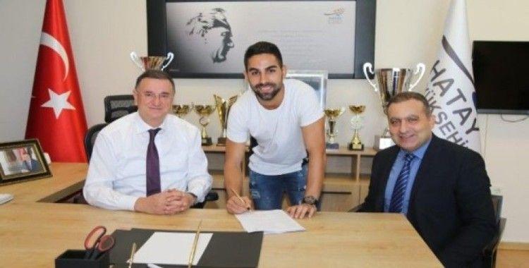 Caner Hüseyin Bağ, Hatayspor ile sözleşme yeniledi