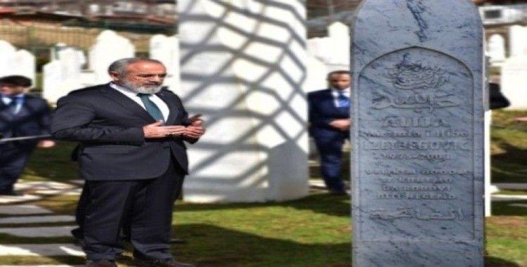 Yalçın Topçu'dan Srebrenitsa mesajı