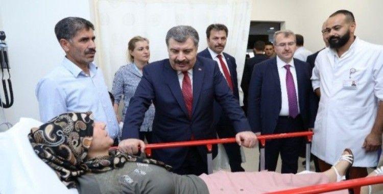 Bursa Şehir Hastanesine ilk hasta geldi