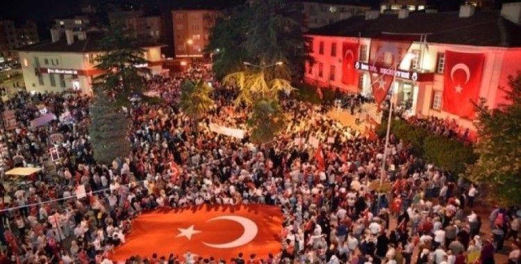 İnegöl'de 15 Temmuz Milli Birlik Ve Beraberlik Günü hazırlıkları tamamlandı