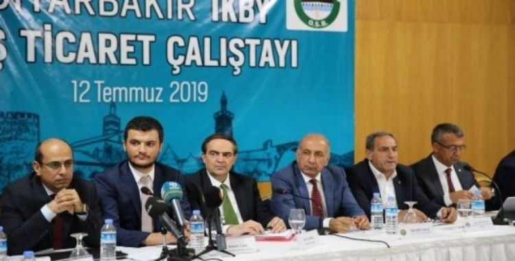 Diyarbakır-IKBY dış ticaret çalıştayı düzenlendi