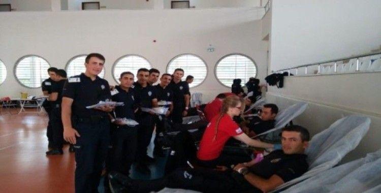 Yozgat POMEM öğrencileri kan bağışında bulundu