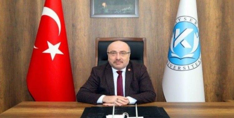 KAYÜ Rektörü Prof. Dr. Karamustafa'nın 15 Temmuz mesajı