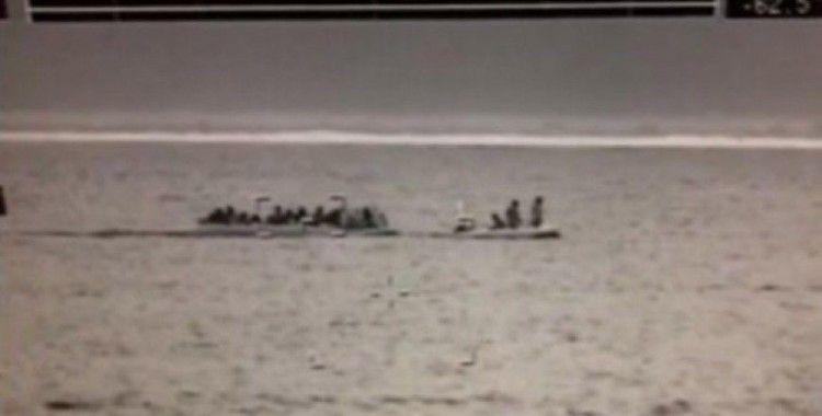 Sahil Güvenlik, 'Mobil Radarı' ile tespit etti