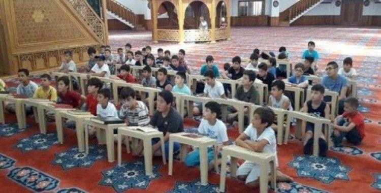 Yaz Kur'an Kursları devam ediyor