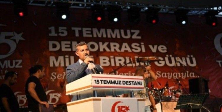 Başkan Çınar'dan 15 Temmuz mesajı