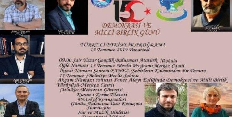 """Türkeli, """"Demokrasi ve Milli Birlik Günü""""ne hazır"""