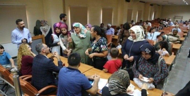 Halk gününde vatandaşlar sorunlarını iletti