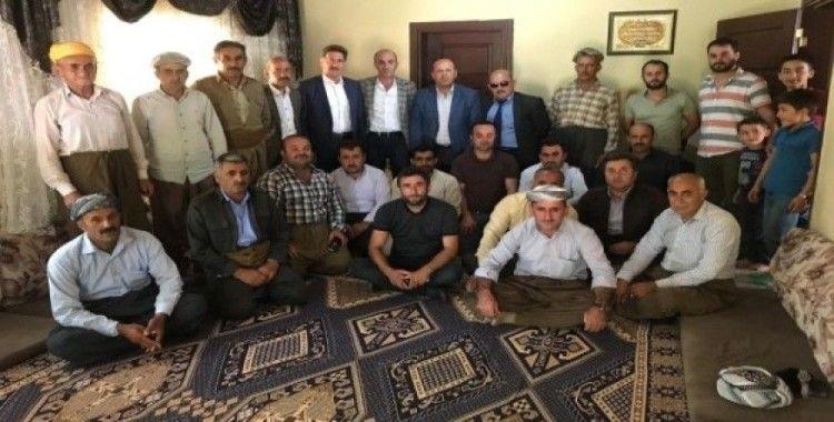 Derecik Gaziler ve Şehit Aileleri Derneği Başkanlığına Sevin seçildi