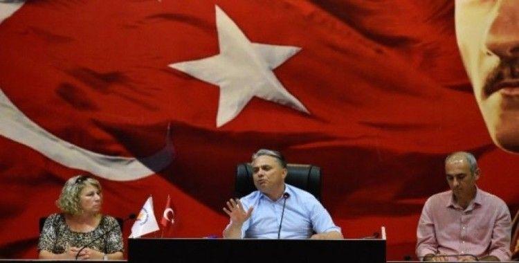 Muratpaşa Belediye Meclisi Kırcami için olağanüstü toplandı