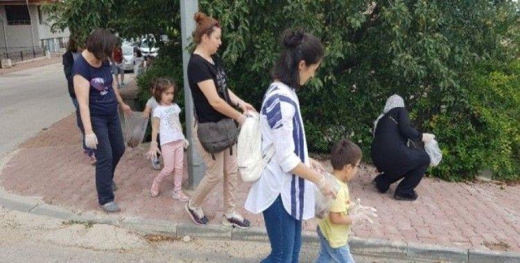Tarihi Osmanlı Kenti Safranbolu'da miniklerin temiz çevre duyarlılığı