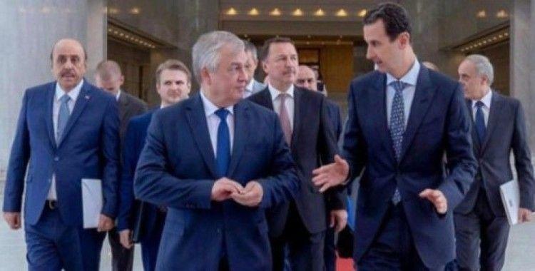 Rus diplomatlar Esad ile 'İdlib' üzerine görüştü