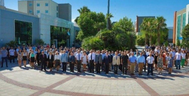 Yaşar Üniversitesi'nde 15 Temmuz anma töreni