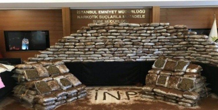 İstanbul'da yarım ton uyuşturucu ele geçirildi