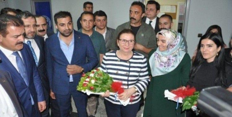 Ticaret Bakanı Pekcan, Yüksekova'yı ziyaret etti