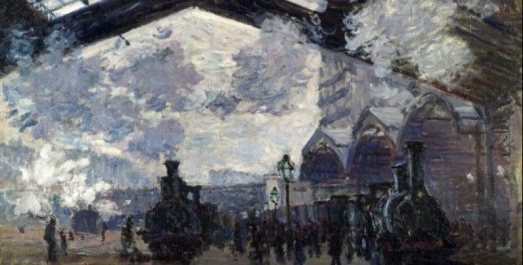 St-Lazare İstasyonu // Claude Monet
