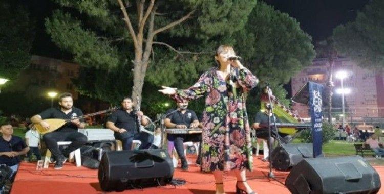 Büyükşehirden Nazilli'de beğenilen konser