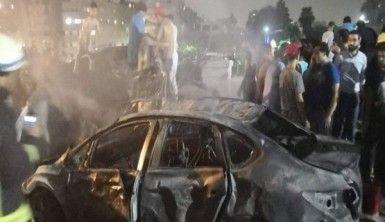 Kahire'de patlama meydana geldi