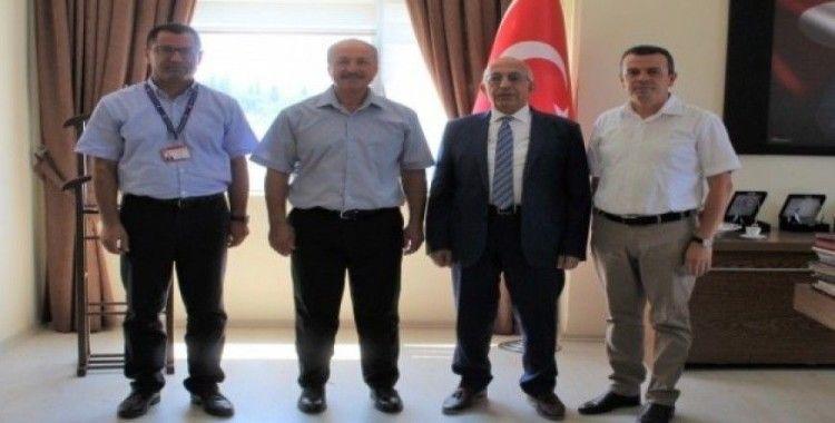 New York Tiran Üniversitesi Rektörü Prof. Dr. İsmail Kocayusufoğlu'ndan Rektör Murat'a ziyaret