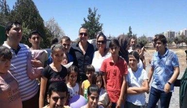 Berdan Mardini, Diyarbakır Fidan Özel Eğitim ve Rehabilitasyon Merkezi'ni ziyaret etti