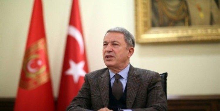 Milli Savunma Bakanı Akar: 'Kıbrıs 82 milyonun milli davası'
