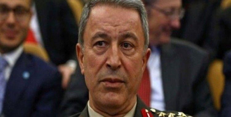 """Bakan Akar'dan """"Güvenli Bölge"""" açıklaması"""