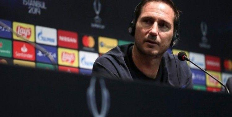 Chelsea Teknik Direktörü Lampard: UEFA Süper Kupa maçını kazanacağımıza inanıyorum