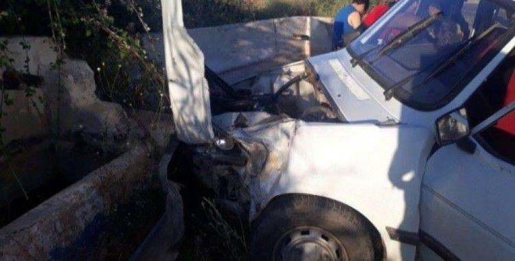 Denizli'de trafik kazası: 5'i yabancı uyruklu 8 yaralı