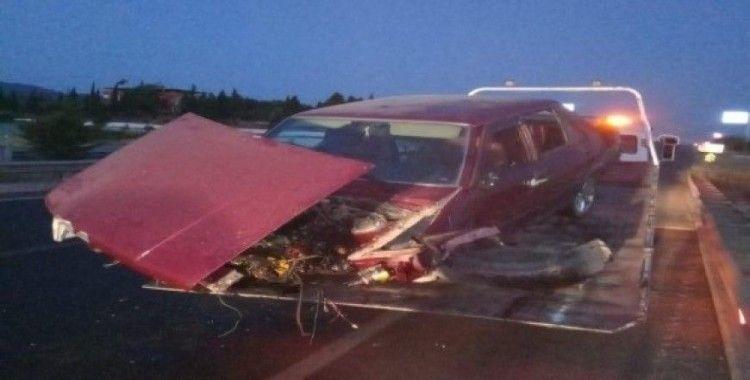 Ahmetli'de trafik kazası: 4 yaralı