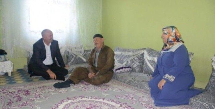 Başkan Akman'dan bayram ziyareti