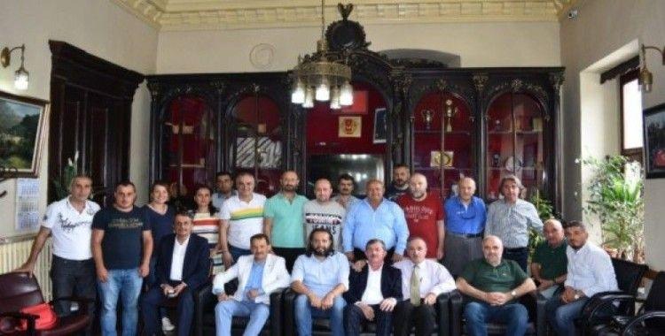 Trabzon Gazeteler Cemiyetinde bayramlaşma