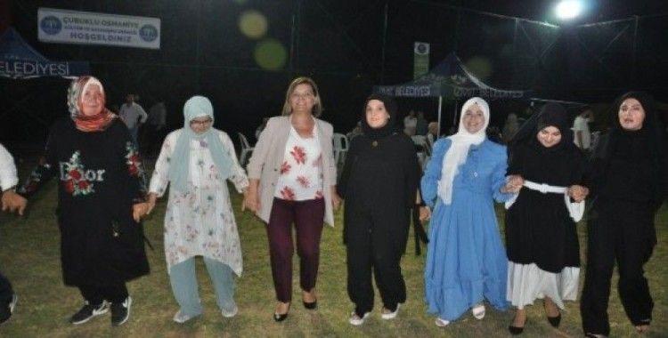Çubuklu Osmaniye'de bayram  coşkusu