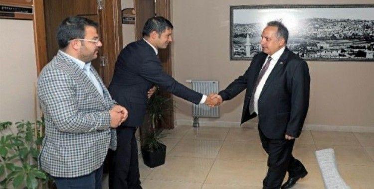 Talas Belediyesi personelleri bayramlaştı