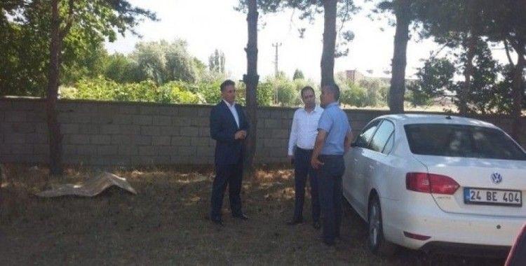 Erzincan'da okulların onarım işlerini yükümlüler yerine getiriliyor