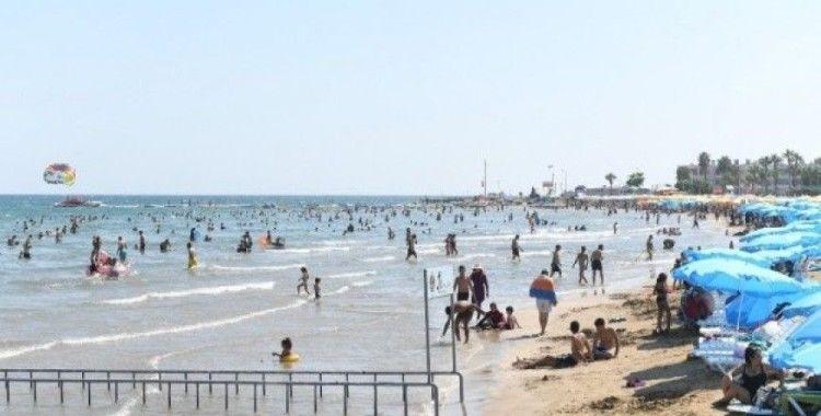 Büyükşehir Belediyesi halk plajları, bayramda 50 bin tatilciyi ağırladı